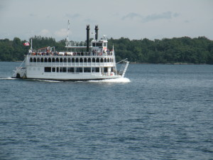 Island Queen 1000 Islands cruise out of Kingston