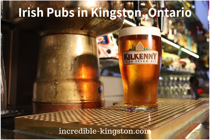 irish pubs in kingston, ontario